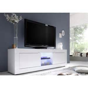 meuble tele blanc envie de meubles meuble tv laqu 233 blanc tika 181 cm blanc