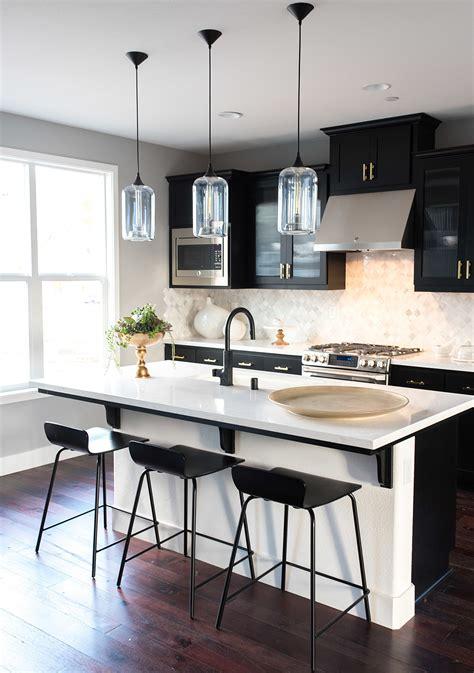 gorgeous ways  soften black kitchen cabinets martha
