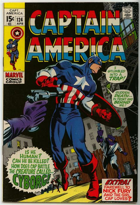 Captain America Comic Book captain america comic books for sale 1968