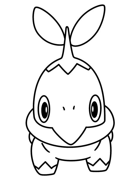 pokemon coloring pages turtwig related pokemon coloring pages chimchar cute pokemon