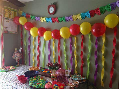 birthday party room decorations henol decoration ideas