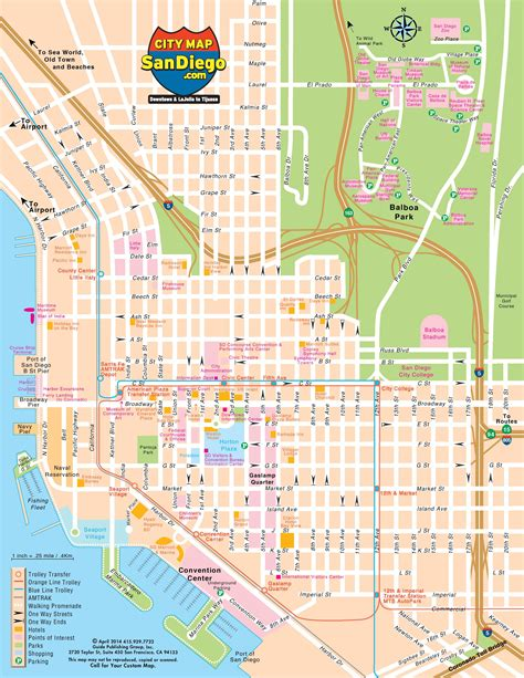 san diego on map of usa san diego map map of san diego california