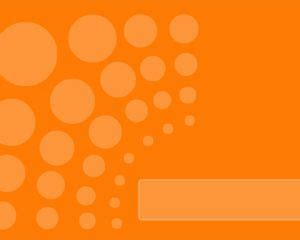 orange business powerpoint template