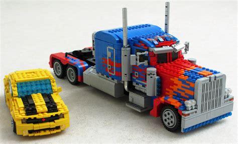 Transformer Optimus Prime Lego optimus prime transformer lego 05 9to5toys