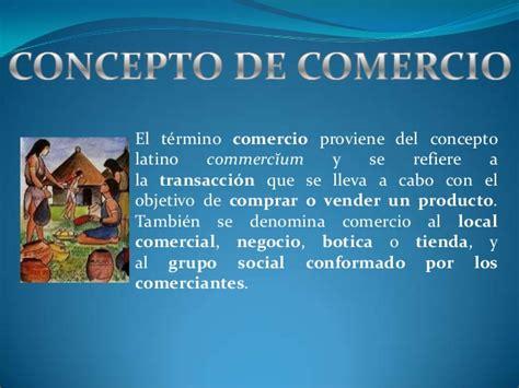 el concepto del continuum concepto de historia del comercio