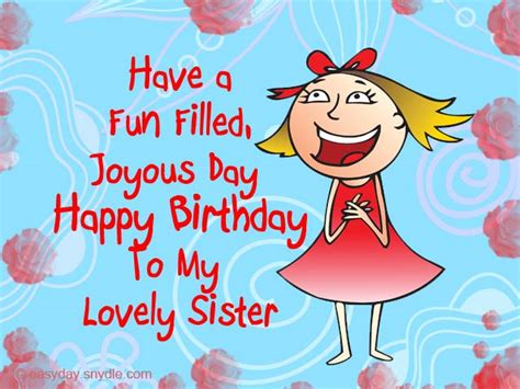 Happy Birthday Younger Wishes Birthday Wishes For Sister Easyday