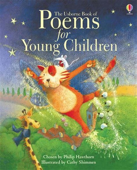 poetry picture books for children book of poems for children at usborne books
