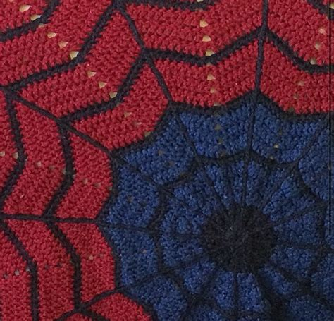 pattern for spiderman blanket pattern only spiderman inspired round ripple crochet blanket