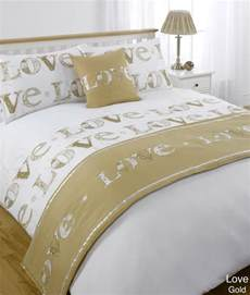 Bed Sheets Ebay 5pc Gold King Size Bed In A Bag Duvet Quilt Cover