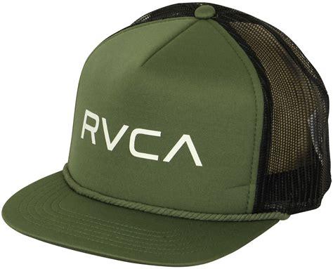 Topi Trucker Snapback Rvca 2 rvca va sport foamy trucker snapback hat olive green ebay