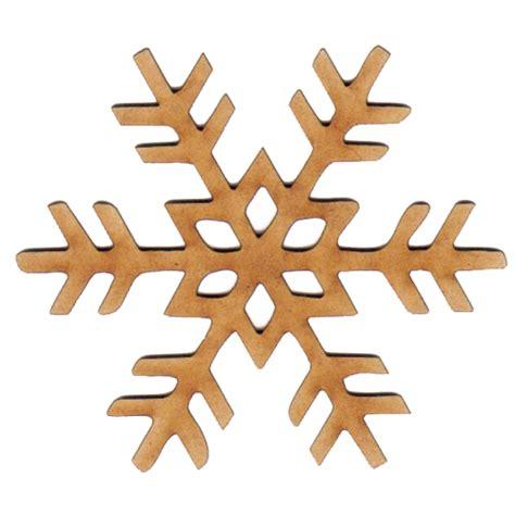 Decorative Trees For Home snowflake wood shape style 5 for altered art and craft