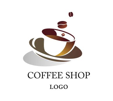 design logo for coffee shop vector coffee seed shop logo inspiration download food