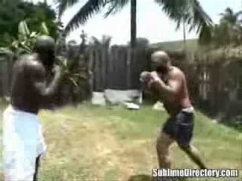 kimbo slice backyard fighting kimbo slice backyard fight flv youtube
