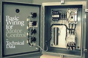 basic wiring for motor control technical data eep