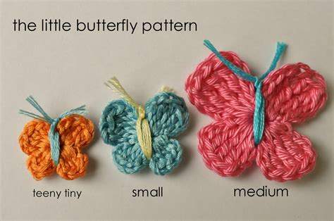 butterfly pattern in crochet how to crochet a butterfly little birdie secrets