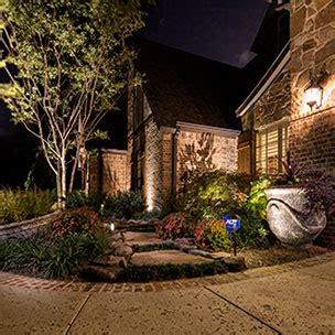 Landscape Lighting Outdoor Dallas Fort Worth Plano Landscape Lighting Fort Worth