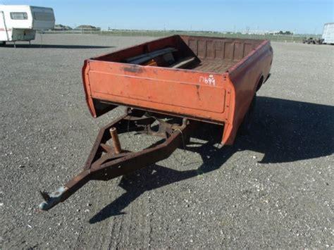 trailer bed homemade truck bed trailer