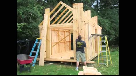 Build A Shed Diy by How To Build A Garden Shed Building A Shed How To