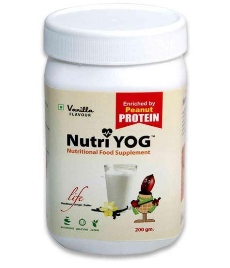 v protein powder price nutri yog peanut protein powder 200 gm vanilla flavor