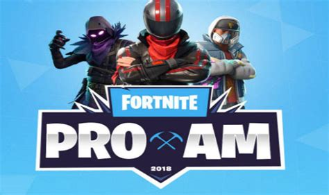 fortnite tournament fortnite e3 tournament pro am start times confirmed ahead
