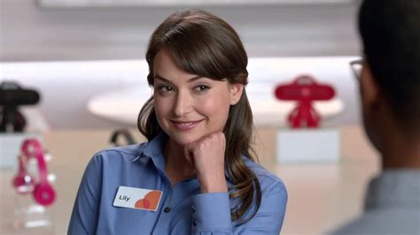 girl in att commercial where s lily adams the at t girl the blemish