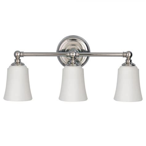 Modern Bathroom Lighting Uk Modern Classic 3lt Bathroom Mirror Light In Polished