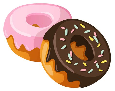 Donuts PNG Clipart Picture   Gallery Yopriceville   High Quality Images and Transparent PNG Free