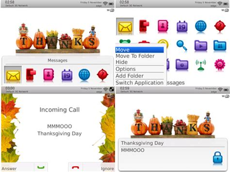 download themes blackberry 9800 thanksgiving day themes for torch 9800 free blackberry