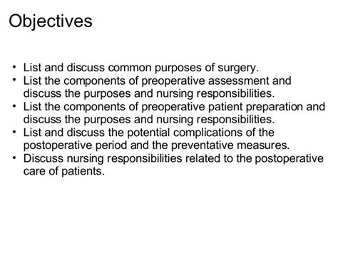 preoperative care for cesarean section perioperative nursing care