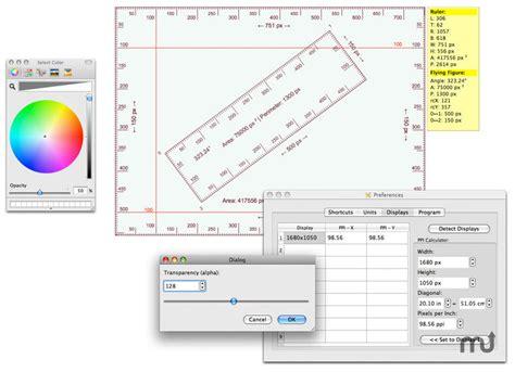 mac screen ruler screen ruler for mac free macupdate