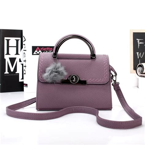Tas Selempang Satchel Casual by Kgs Tas Wanita Casual Formal Selempang Fur Tassel
