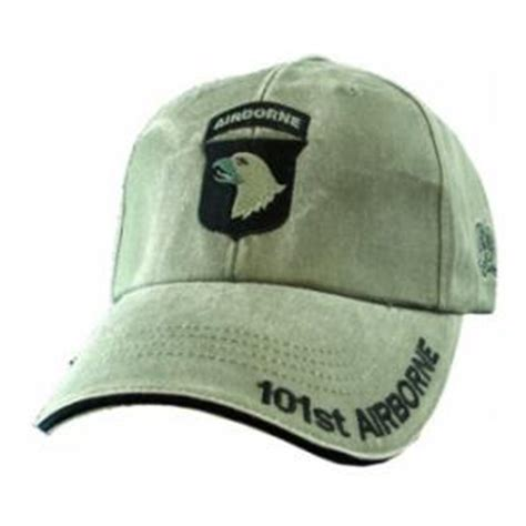 Topi Baseball Import Us Airborne Navy 101st airborne embroidery cap olive drab
