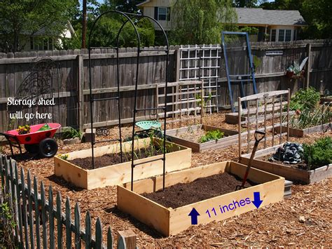 charming design raised vegetable garden plans beds