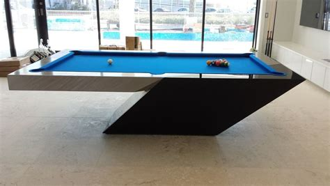 Custom Mitchell Catalina Matching Handcrafted Shuffleboard Unique Pool Tables