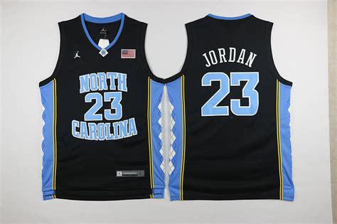 Kaos 23 Jersey Black cheap carolina 23 michael black jersey for sale