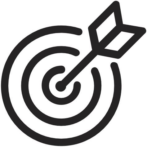ziel icon ziel symbol kostenlos von thefreeforty
