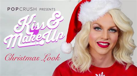 courtney act hair tutorials christmas glam tutorial kiss make up with courtney act