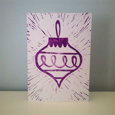 Lino Cut Cards by 1000 Images About Printmaking On Screen
