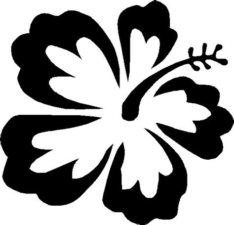 Hawaiin Flower Template Clipart Best Hawaiian Flower Template