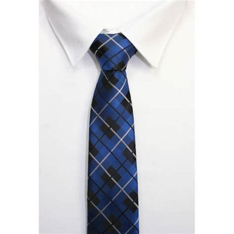 nudo de corbata moderno corbata cuadros azules modernos gran calidad gran variedad