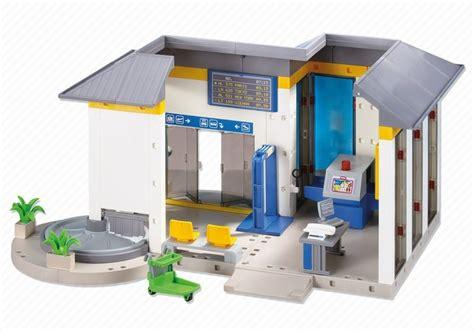 Playmobil Kinderzimmer Junge 6556 by Playmobil Set 6300 Flughafen Terminal Klickypedia
