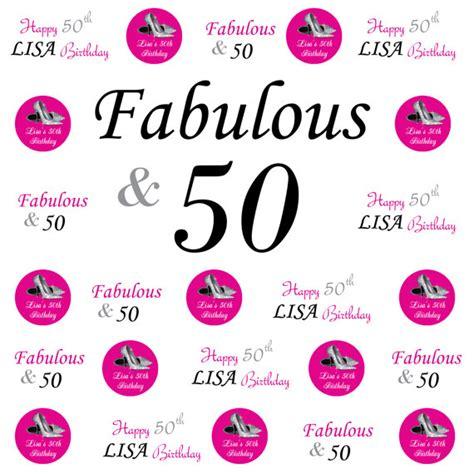 Backdrop Design For 50th Birthday | 50th birthday banner 50th birthday backdrop by