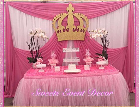 Baby Shower Backdrop by Princess Baby Shower Quot Baby Shower Table Backdrop
