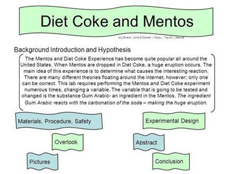 Similiar Data For Mentos Experiment Keywords