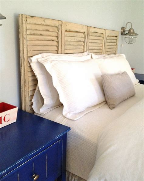 old shutter headboard top 10 cheap and chic diy headboard ideas top inspired
