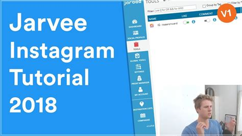 tutorial instagram youtube jarvee instagram tutorial 2018 youtube