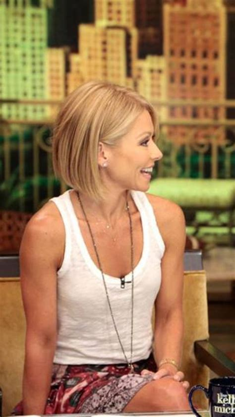 kelly ripa angled bob 1000 images about bob hair cuts on pinterest stacked