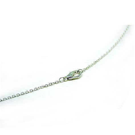 Kalung Wanita White necklace with o shape 925 sterling silver kalung wanita white jakartanotebook