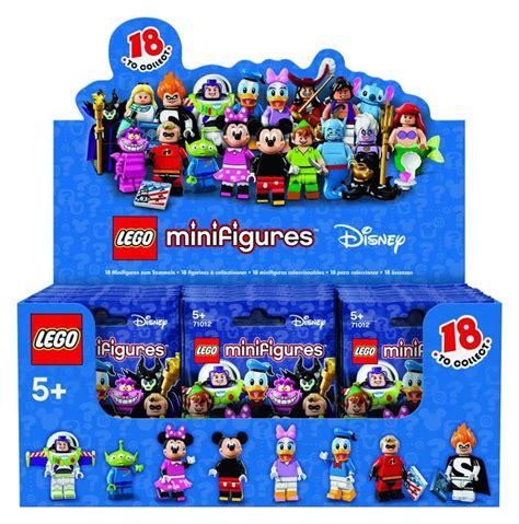 Minifigure The Disney Series look at lego disney minifigure packaging