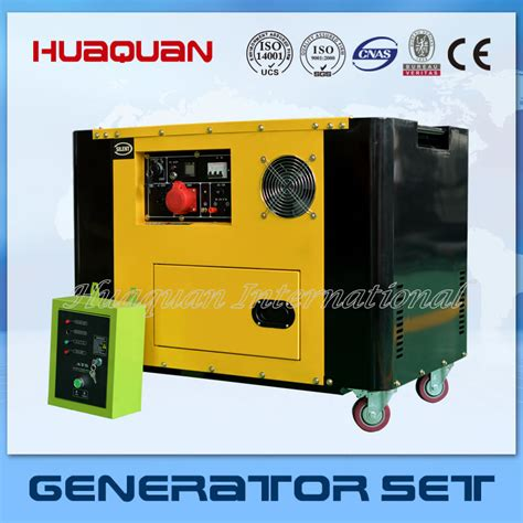 electric start 10kva silent diesel generator for sale in